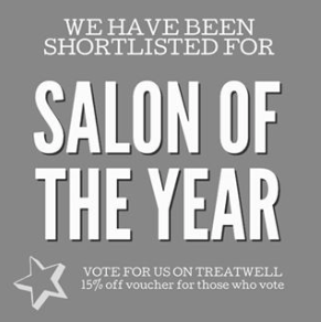 Shortlisted for SALON OF THE YEAR Thumbnail